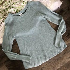 | CAbi | 5133 Blue Sky Swing Pullover Sweater